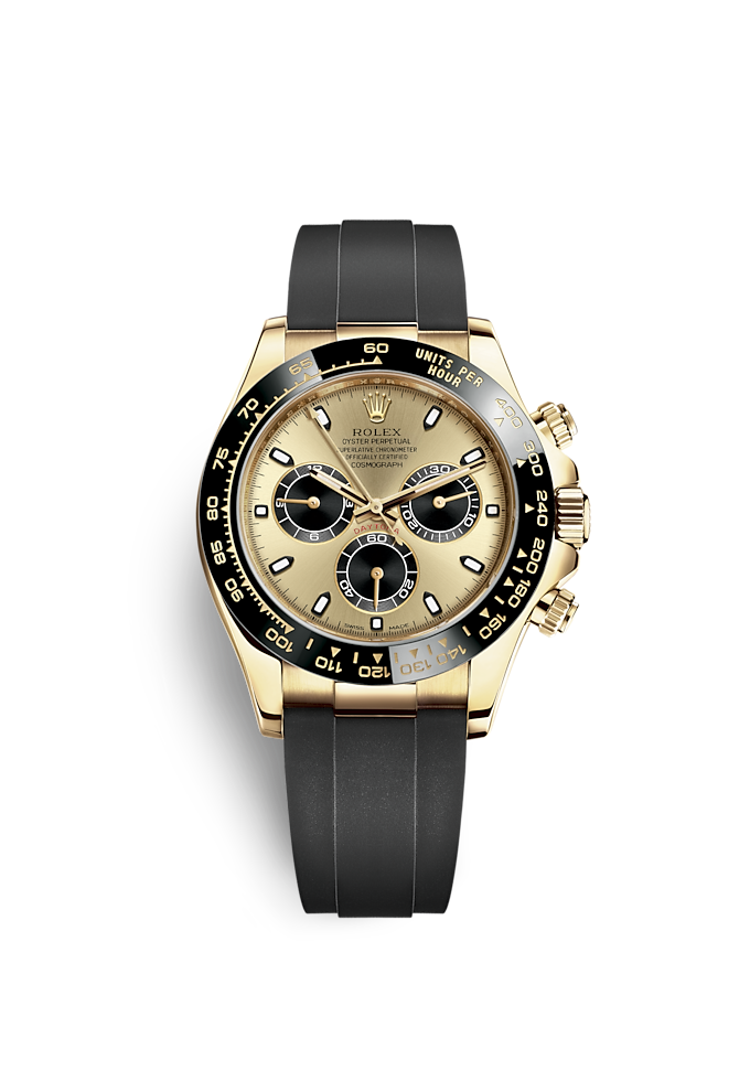 Cosmograph Daytona, Oyster, 40 mm, yellow gold