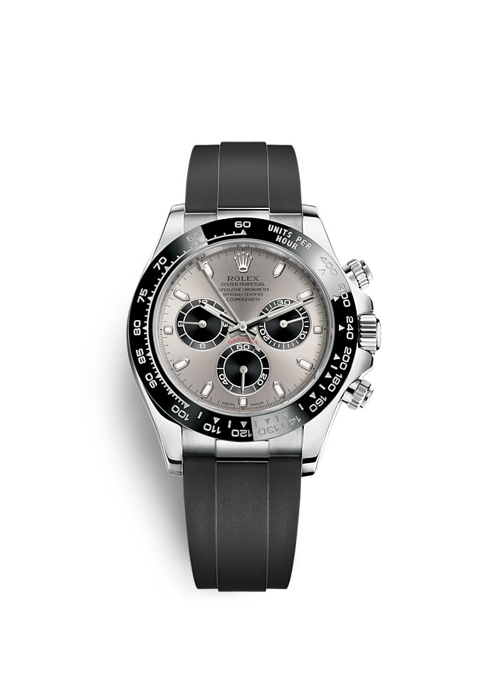 Cosmograph Daytona, Oyster, 40 mm, or gris