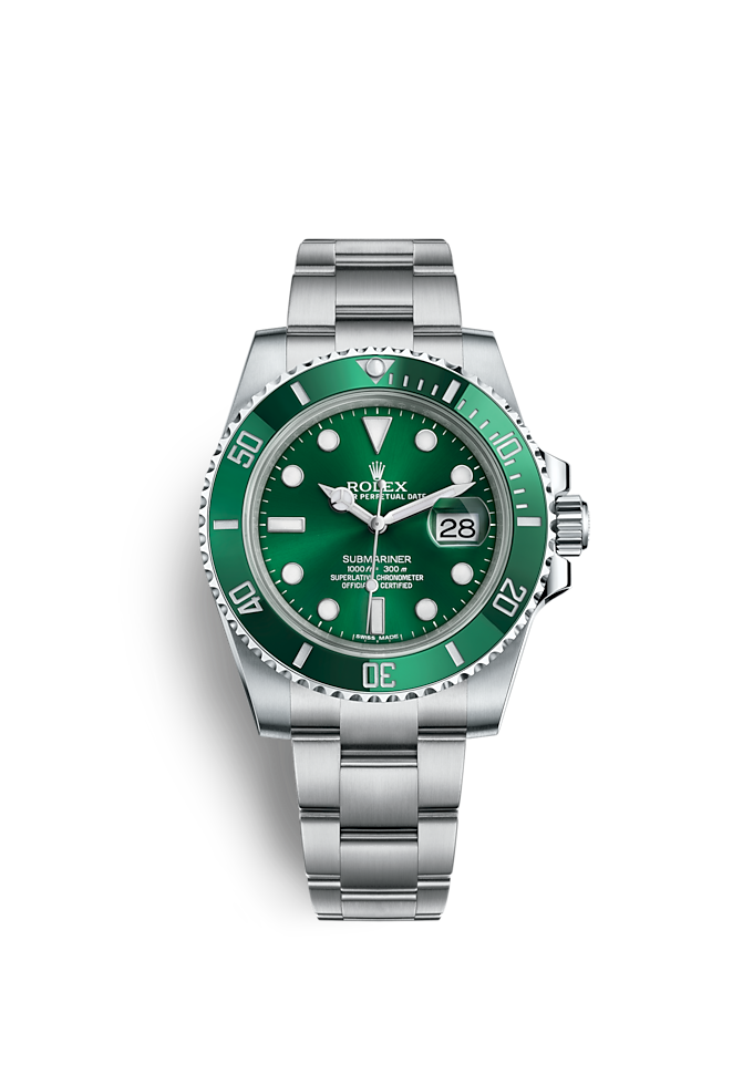 Submariner Date, Oyster, 40 mm, Oystersteel