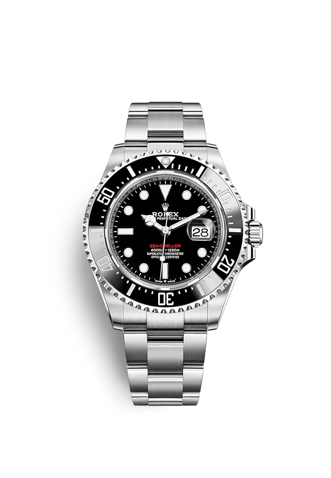 Sea-Dweller, Oyster, 43 mm, acero Oystersteel