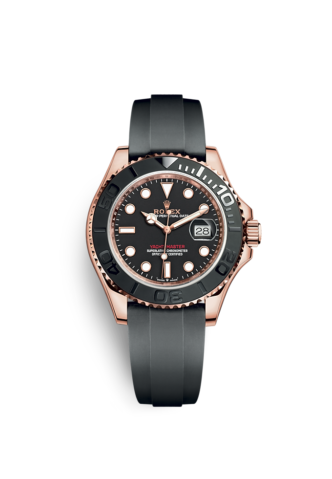 Yacht-Master 40, Oyster, 40 mm, Everose-Gold